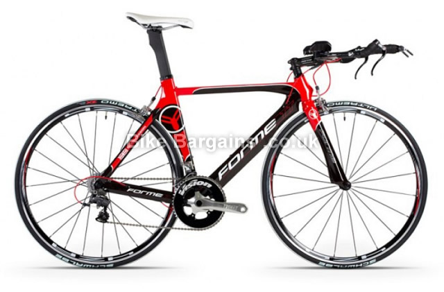 Forme ATT Carbon Ultegra Time Trial Bike 2013 57cm, Black, red