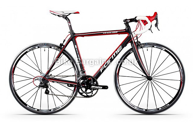 Forme Axe Edge Compe Campag Veloce Carbon Road Bike 2013 black, red,  53cm