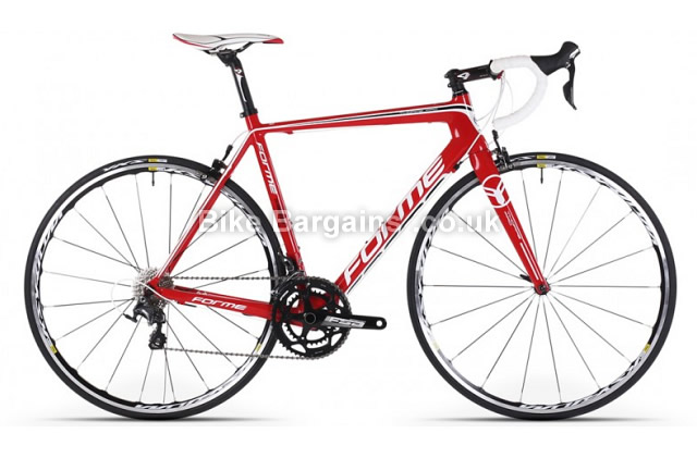 Forme Thorpe Pro Ultegra Carbon Ksyrium Road Bike 2014 58cm, Red, Carbon, Calipers, 11 speed, 700c
