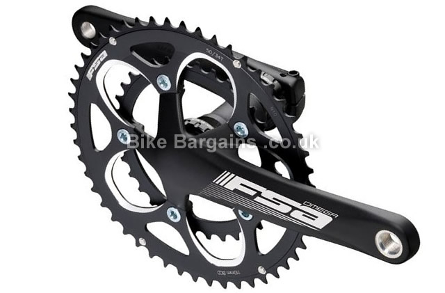 FSA Omega M-Exo N-10-11 Alloy Road Chainset 170mm, black