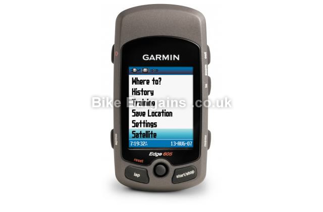 Garmin Edge 605 GPS Cycle Computer GPS, grey