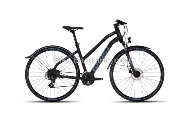 "Ghost Square Cross X 2 Miss Hybrid City Bike 2016 20"", 22"""