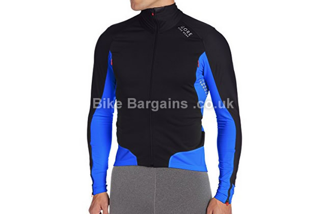 Gore Bike Wear Xenon 2.0 Windstopper Soft Shell Jersey black, blue, S,M,L