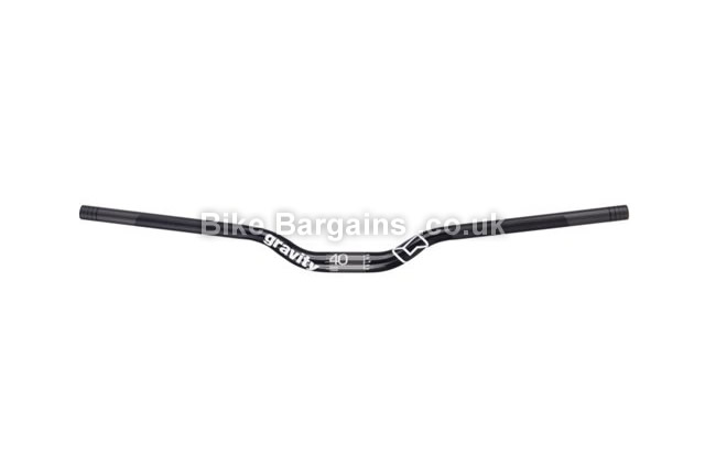 FSA Gravity Alloy Mountain Bike Riser Bar 15mm,25mm,40mm rise