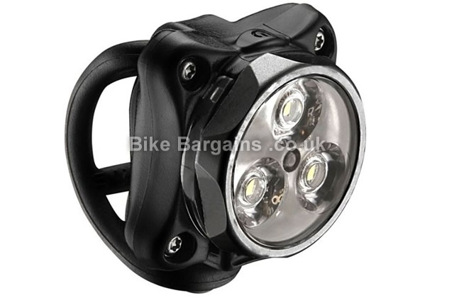 Lezyne Zecto Drive 80 Lumens Front Light 47g, black, silver