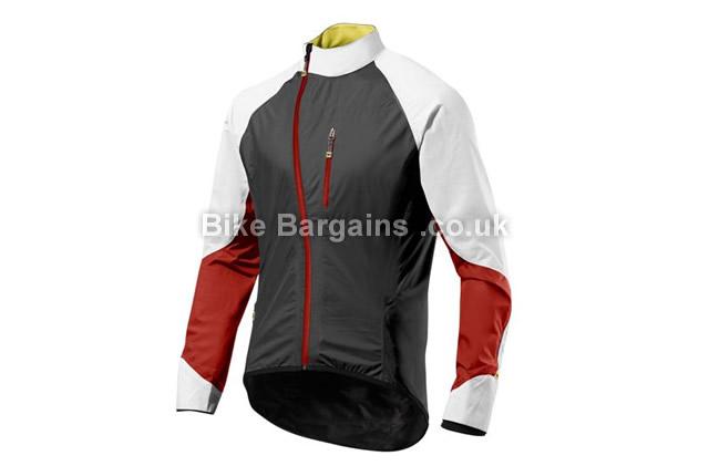 Mavic HC H2O Rain Jacket 2014 black, red, M