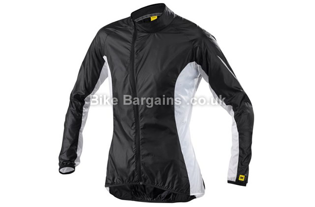 Mavic Ladies Cosmic Pro Windproof Cycle Jacket 2015 black, blue, XL