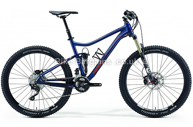 Merida One-Twenty 900 XT 27.5 Alloy Full Suspension MTB 2015 blue, 20""