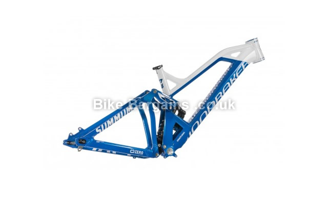Mondraker Summum Pro Team Downhill MTB Frame 2015 S,M, blue, white