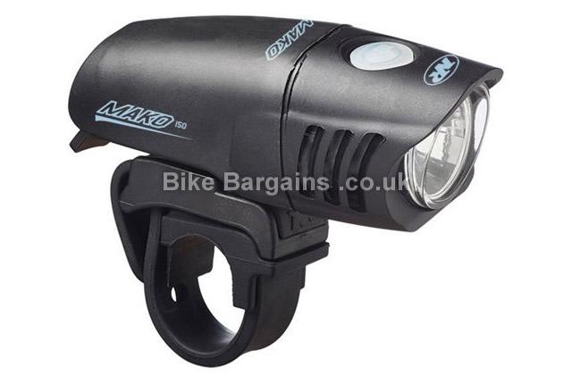Nite Rider Mako 150 Lumens Front Light black, 175g, 150 Lumens