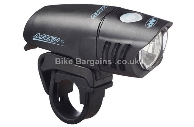 Nite Rider Mako Mini 50 Lumens Head Light black, 50 Lumens