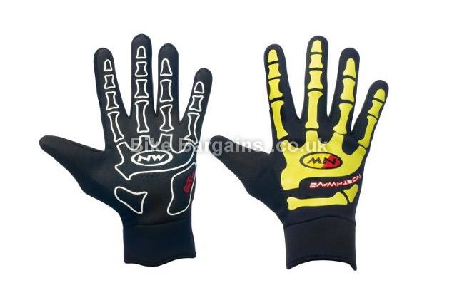 Northwave Skeleton W-Gel Silicone Grip Gloves 2015 black, S