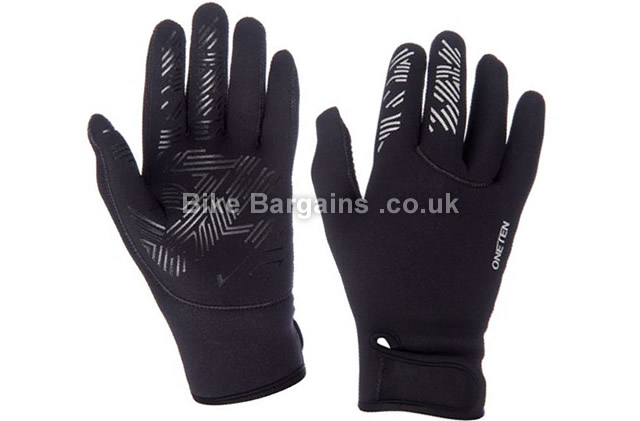 oneten Winter Neoprene Cycling Gloves black, S,M,L