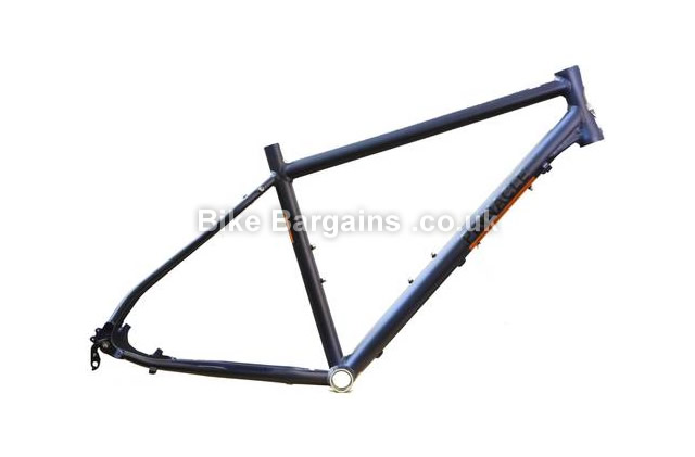Pinnacle Lithium 5 Alloy 6061-T6 Hybrid Frame 2014 S, silver