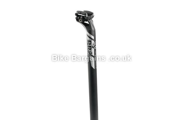 20 mm layback black black PRO PLT 2014 alloy seatpost 27.2 x 350 mm