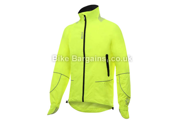 Santini GR44 Waterproof Rain Jacket XXXL, yellow