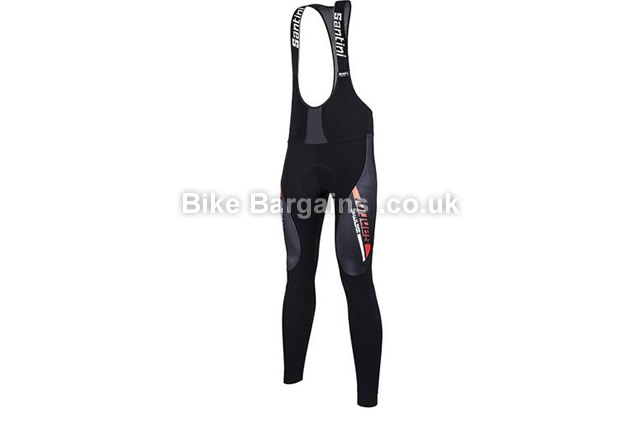 Santini Vega Aquazero Water Resistant Bib Tights 2016 black, S