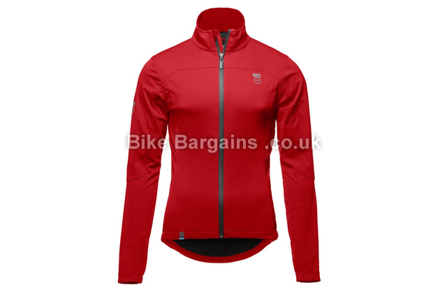 Vulpine Randa Softshell Cycling Jacket black, red, L,XL,XXL
