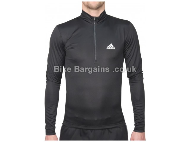 Adidas Questar Contoured Long Sleeve Jersey XS,S, Black