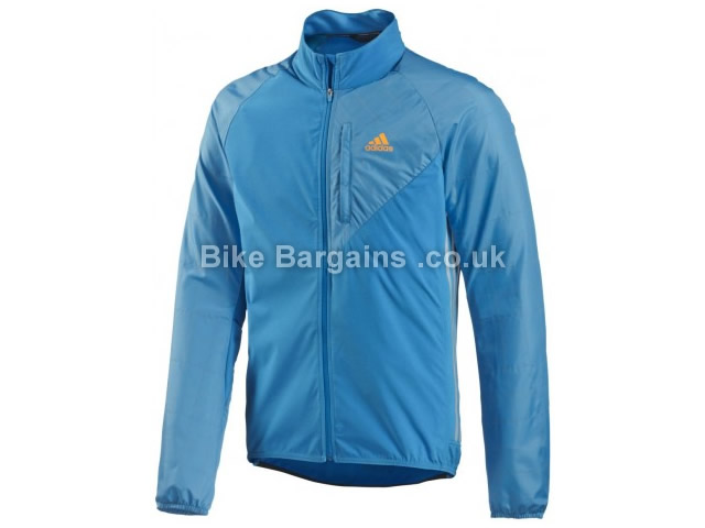 Adidas Tour Commuter Cycling Jacket XS,S,M,L,XL, Blue