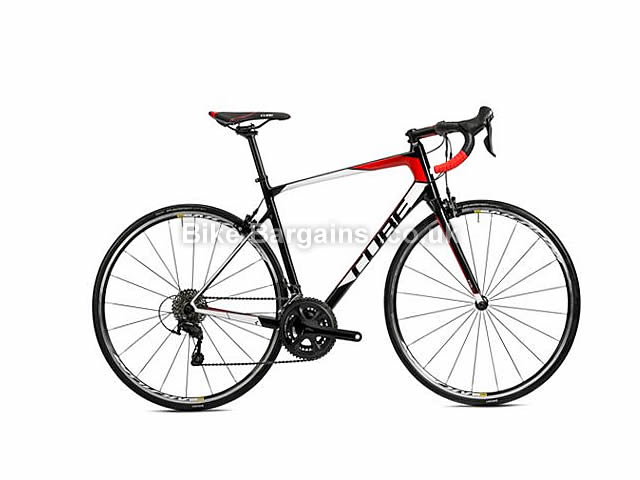 Cube Attain GTC Carbon Road Bike 2016 58cm, Red