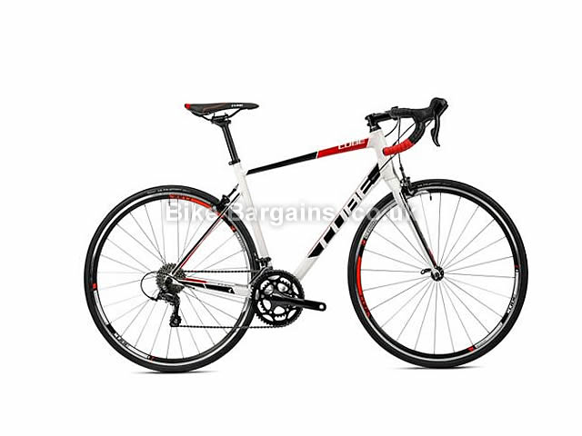 Cube Attain Pro Alloy Road Bike 2016 47cm, White, Black