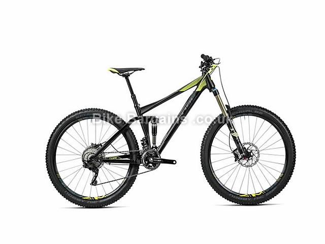 "Cube Stereo 140 HPA Race Full Suspension Mountain Bike 2016 27.5"", 20"", Black"