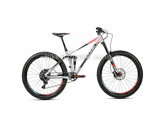 "Cube Stereo 140 HPA SL Full Suspension Mountain Bike 2016 27.5"", 20"","