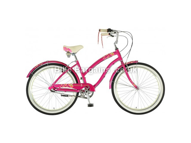 "Dawes Strawberry Ladies British Cruiser 2016 19"", Pink"