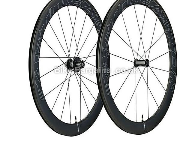 Easton EC90 Aero 55 Carbon Tubular Wheelset 700c, Black