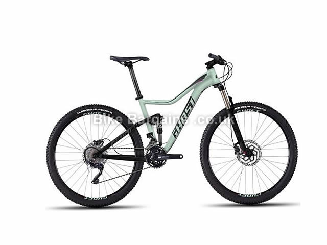 "Ghost Lanao FS 4 Ladies Full Suspension Mountain Bike 27.5"", 16"", Mint"