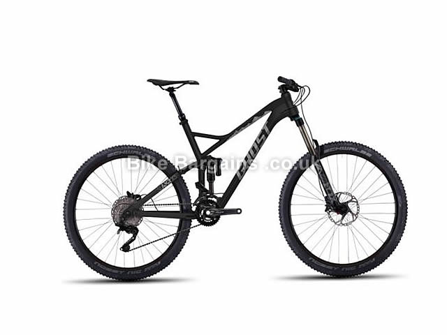 "Ghost SL AMR X 5 Full Suspension Mountain Bike 27.5"", 17"", Black"