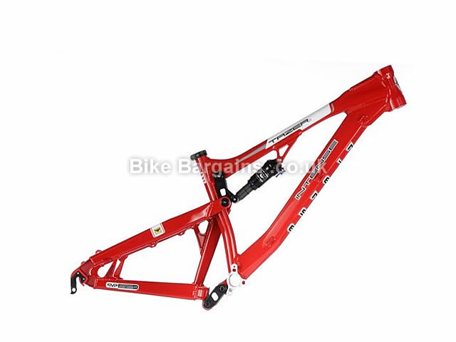 "Intense Tazer VP Alloy Full Suspension MTB Frame 17"", Red"