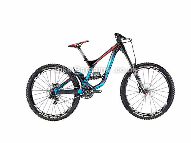 "Lapierre DH Team Full Suspension Mountain Bike 27.5"", M, Black, Blue"