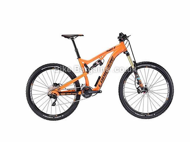 "Lapierre Zesty AM 427 E:I 27.5"" Alloy Full Suspension Mountain Bike 2016 17"", 27.5"", Orange"