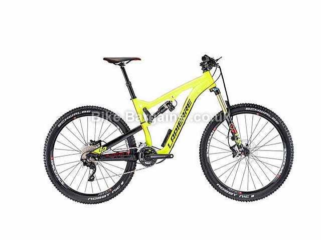 "Lapierre Zesty XM 427 E:I Full Suspension Mountain Bike 27.5"", 17"", Yellow"