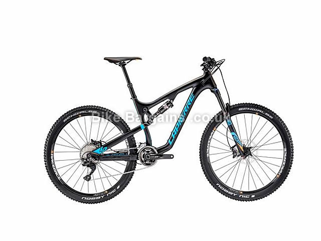 "Lapierre Zesty XM 527 Full Suspension Mountain Bike 27.5"", 17"", Black"