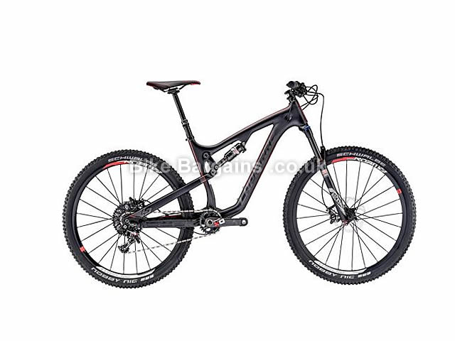 "Lapierre Zesty XM 827 Full Suspension Mountain Bike 27.5"", 18"", Black"