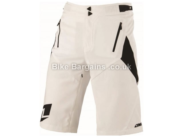 One Industries Vapor Baggy MTB Cycling Shorts 28, White