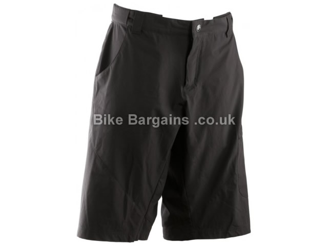 RaceFace Canuck Lightweight MTB Shorts S, Black