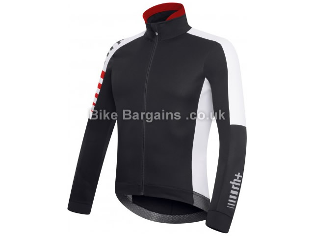 RH+ Legacy Windproof Cycling Jacket XS, Black