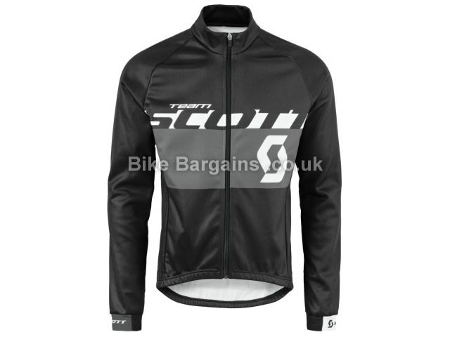 Scott RC Team AS 10 Windbreaker Cycling Jacket S, Black