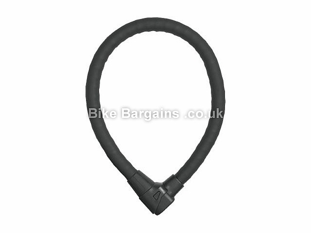 Abus Granit Steel O Flex 1000 Cable Bike Lock Black, 1m long