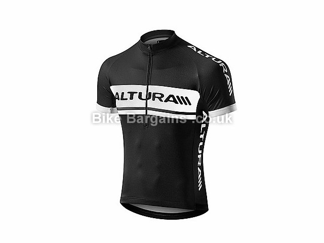 Altura Team Short Sleeve Jersey S,L, Black, Red