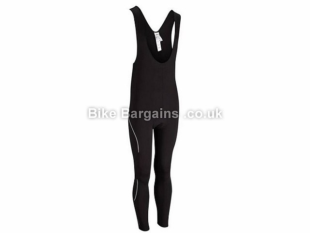 B'TWIN 300 Thermal Cycling Bib Tights black, S