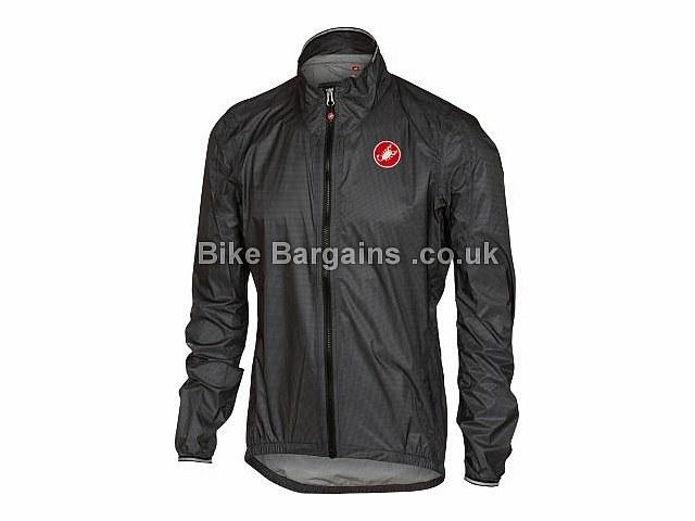 Castelli Dolomiti X-Lite Packable Jacket S, Grey