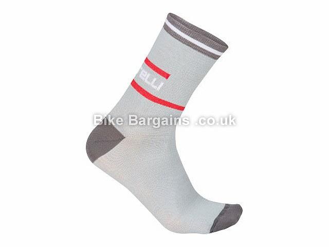 Castelli Incendio 12 Warm Socks S,M,XXL Black, Grey