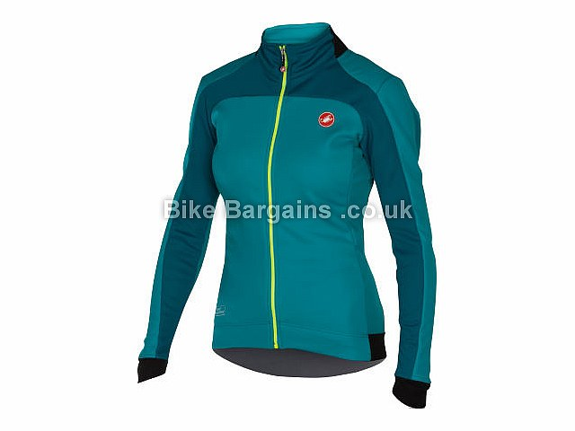 Castelli Ladies Mortirolo 2 Winter Cycle Jacket XS, S, M, L, Blue, Red, Black, Green