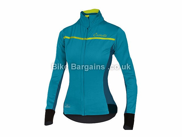 Castelli Ladies Trasparente 3 Windstopper Long Sleeve Jersey XS, S, M, L, XL, Red, Black, Blue