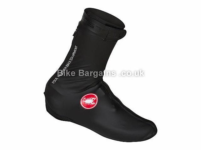Castelli Pioggia 3 Waterproof Overshoes S, Black